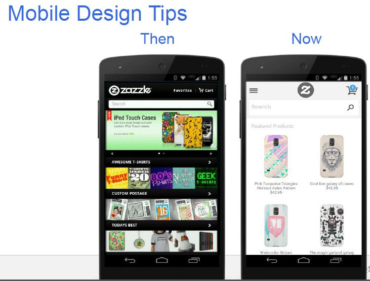mobile design tips