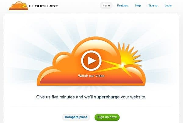 value proposition cloud flare
