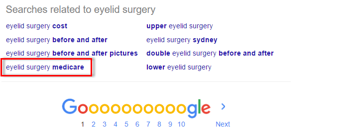 medicare eyelid blog content example