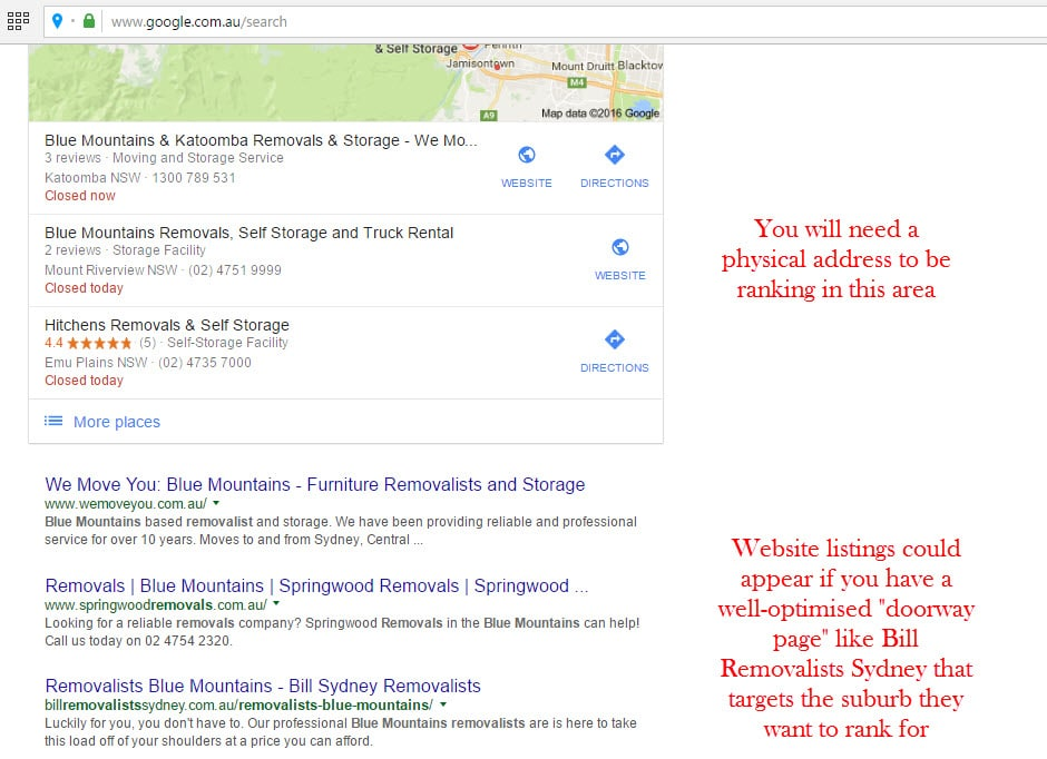 local seo tips, google local seo, how to rank in different locations, google ranking in multiple cities