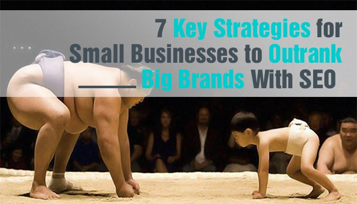 7 Key Strategies for Small Businesses to Outrank Big Brands in SEO