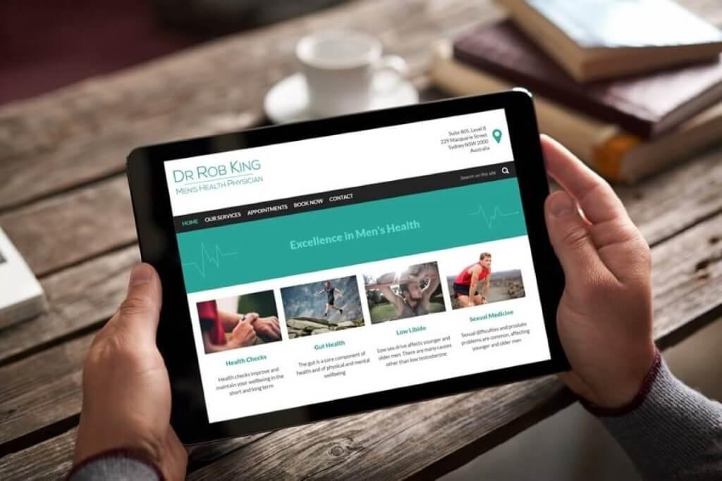 New website showcases best-selling points for Dr Robert K