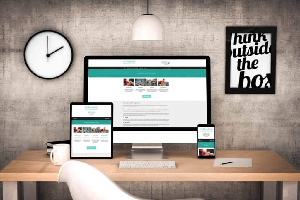 Modern, User Friendly and Conversion Focused Mobile, Tablet and Desktop website after the redesign
