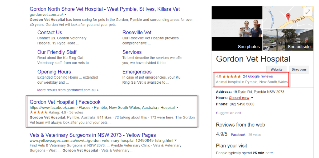GVH has gained massive good number of positive reviews on their Google Plus Local profile
