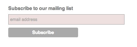 opt-in web form to build your email list