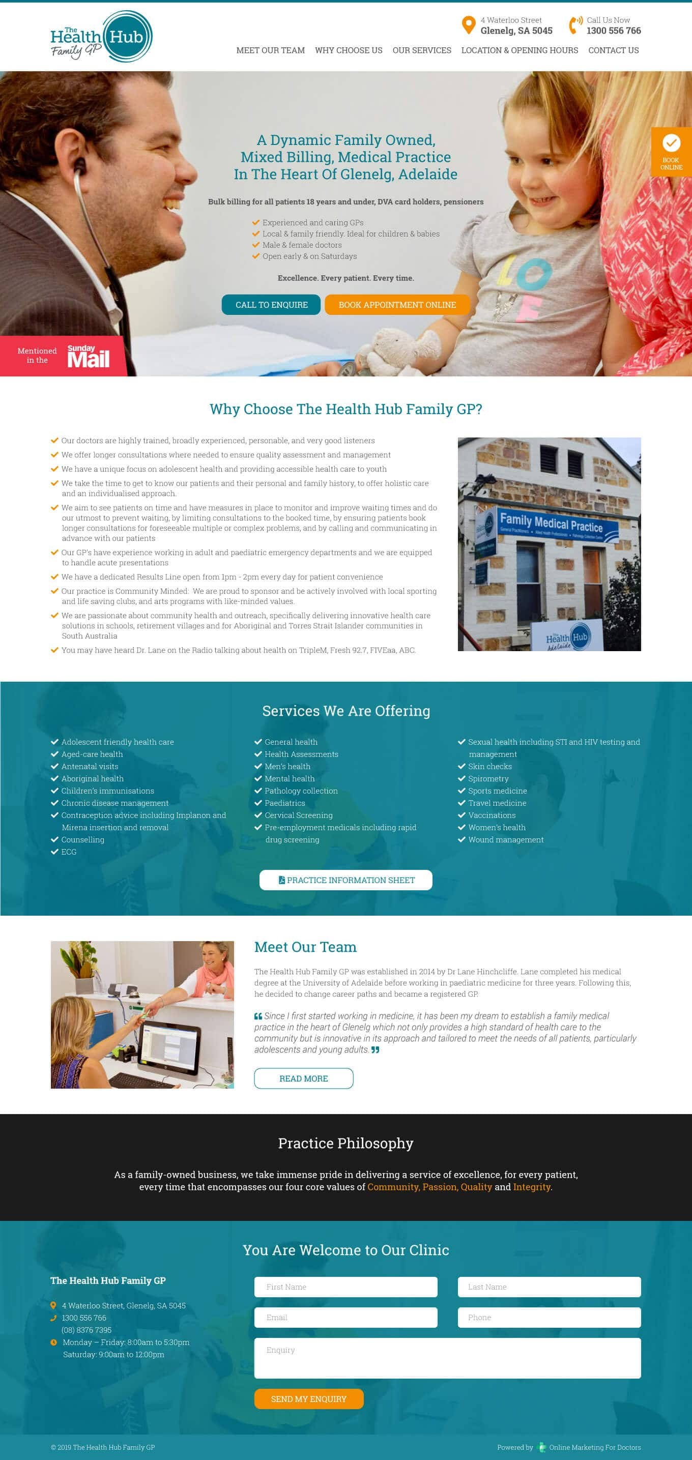 The Family Health Hub